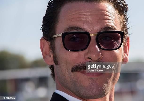 Sagamore Stevenin poses at La Rochelle Fiction Television Festival on September 14 2012 in La Rochelle France