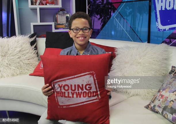 Sage Correa visits the Young Hollywood Studio on July 29 2017 in Los Angeles California
