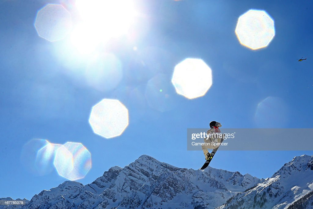 <a gi-track='captionPersonalityLinkClicked' href=/galleries/search?phrase=Sage+Kotsenburg&family=editorial&specificpeople=6711370 ng-click='$event.stopPropagation()'>Sage Kotsenburg</a> of the United States competes in the Snowboard Men's Slopestyle Final during day 1 of the Sochi 2014 Winter Olympics at Rosa Khutor Extreme Park on February 8, 2014 in Sochi, Russia.