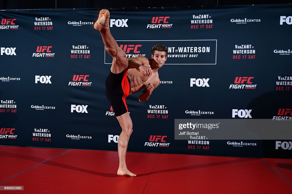Sage Northcutt holds an open training session for fans and media at the Golden 1 Center on December 15, 2016 in Sacramento, California.