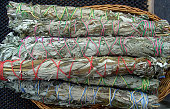 six sticks of sage for smudge purification ceremonies or just cause you love the scent of sage in the morning...smells like victory