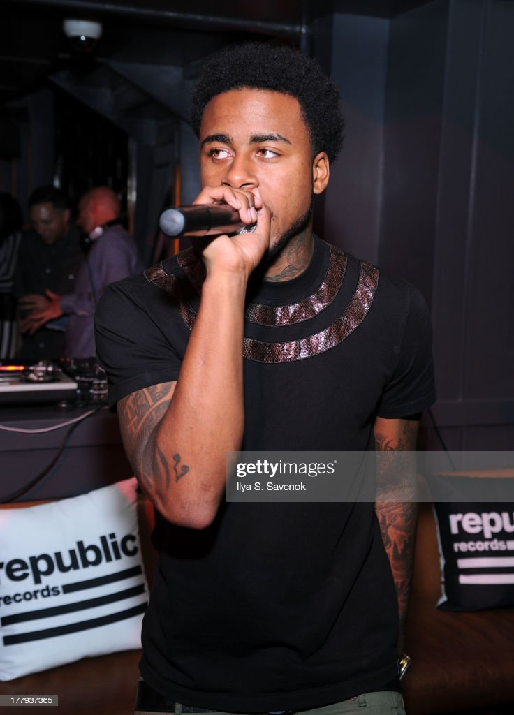 Sage The Gemini performs during Republic Records MTV VMA Viewing & After Party at La Cenita on August 25, 2013 in New York City.