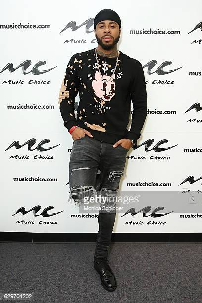 Sage The Gemini visits Music Choice at Music Choice on December 14 2016 in New York City