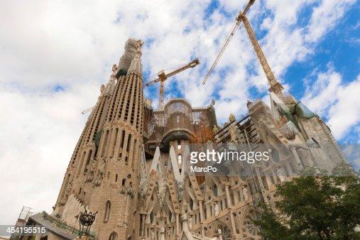Sagrada Familia, Barcelona : Foto de stock