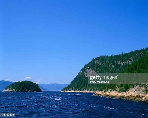 Saguenay River Fjord, Saguenay, Quebec, Canada