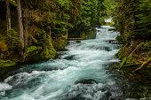 Sahale Falls in Central Oregon