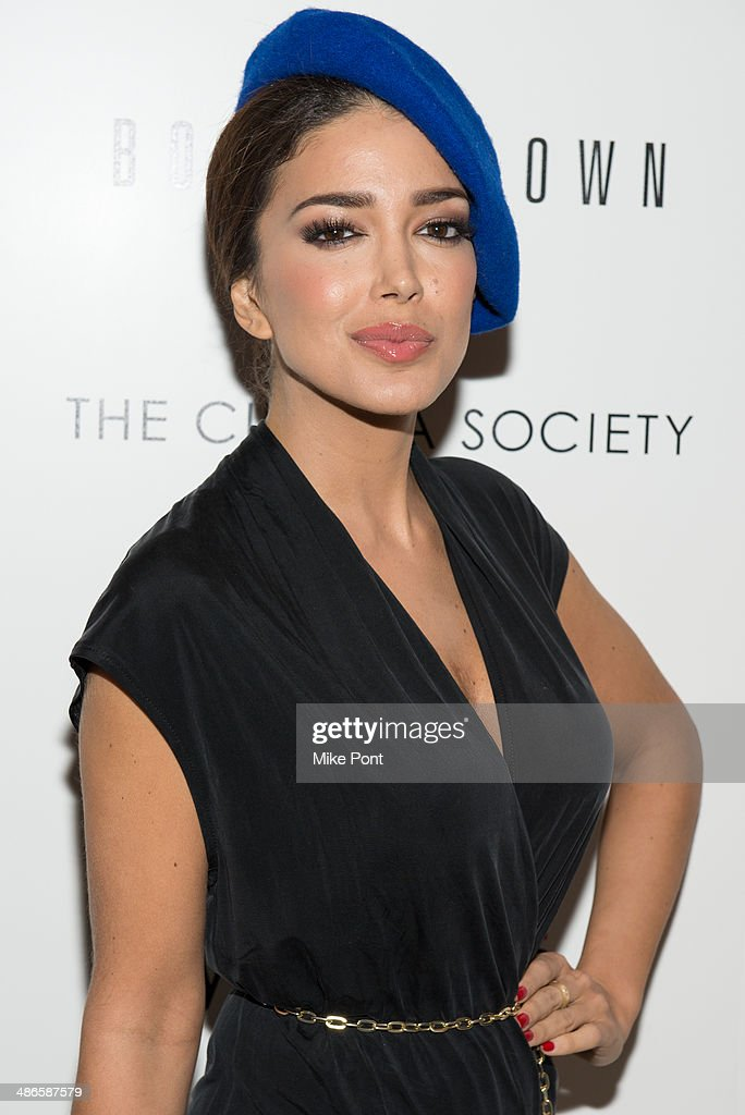 Sahar Biniaz attends The Cinema Society & Bobbi Brown with InStyle screening of 'The Other Woman' at The Paley Center for Media on April 24, 2014 in New York City.