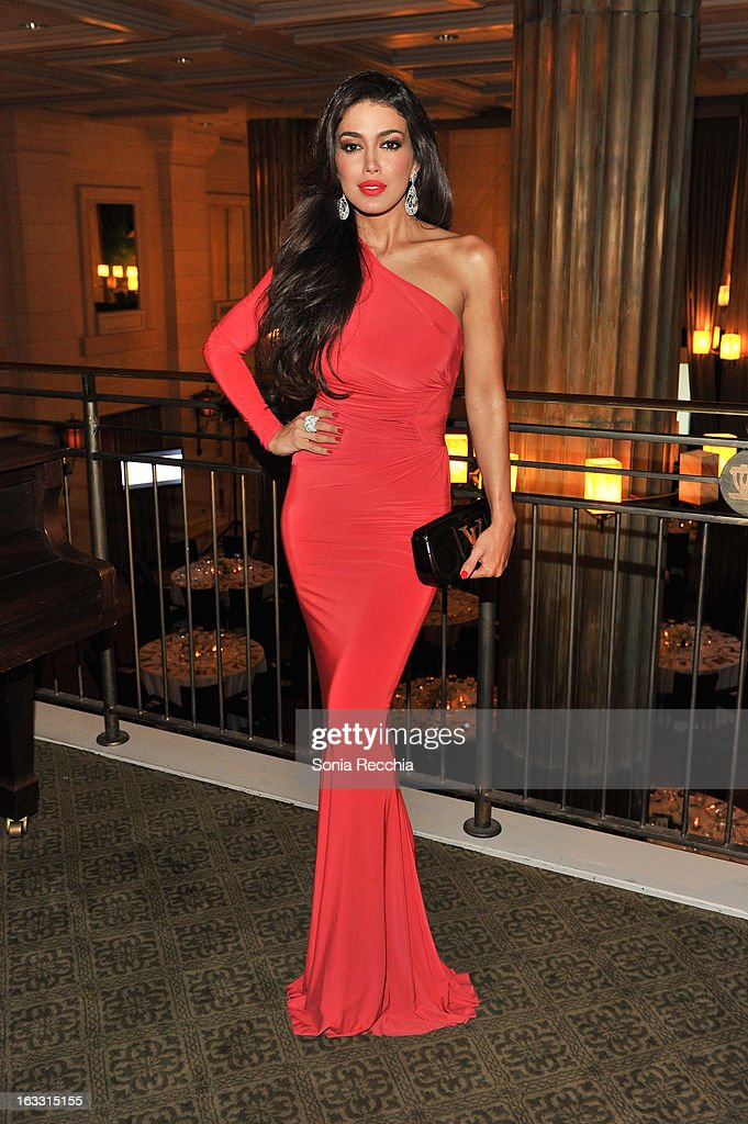 Sahar Biniaz, Miss Universe Canada 2012 attends Operation Smile's Toronto Smile Event at Windsor Arms Hotel on March 7, 2013 in Toronto, Canada.