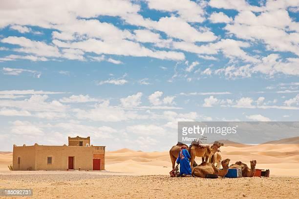 Sahara Berber with Camels Erg Chebbi Morocco