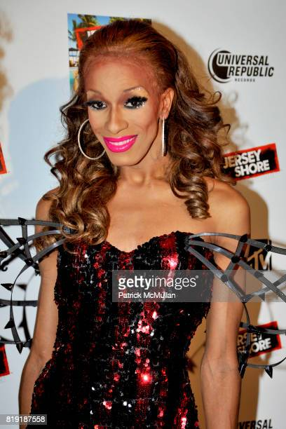 Sahara Davenport attends THE JERSEY SHORE Soundtrack Album Release Party at Marquee on July 13 2010 in New York City