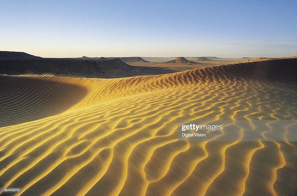 Sahara Desert, Algeria, Africa : Stock Photo