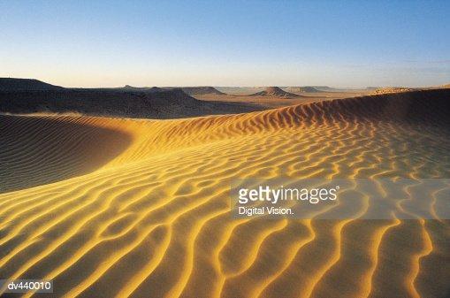 Sahara Desert, Algeria, Africa : Stock Photo