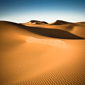 Sahara Desert Dune Nobody