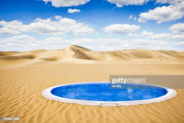 Sahara la piscina
