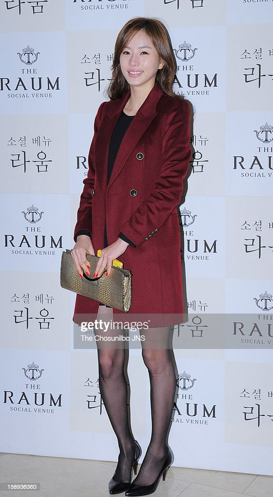 Sahee attends the Seo Do-Young Wedding at the raum on December 22, 2012 in Seoul, South Korea.