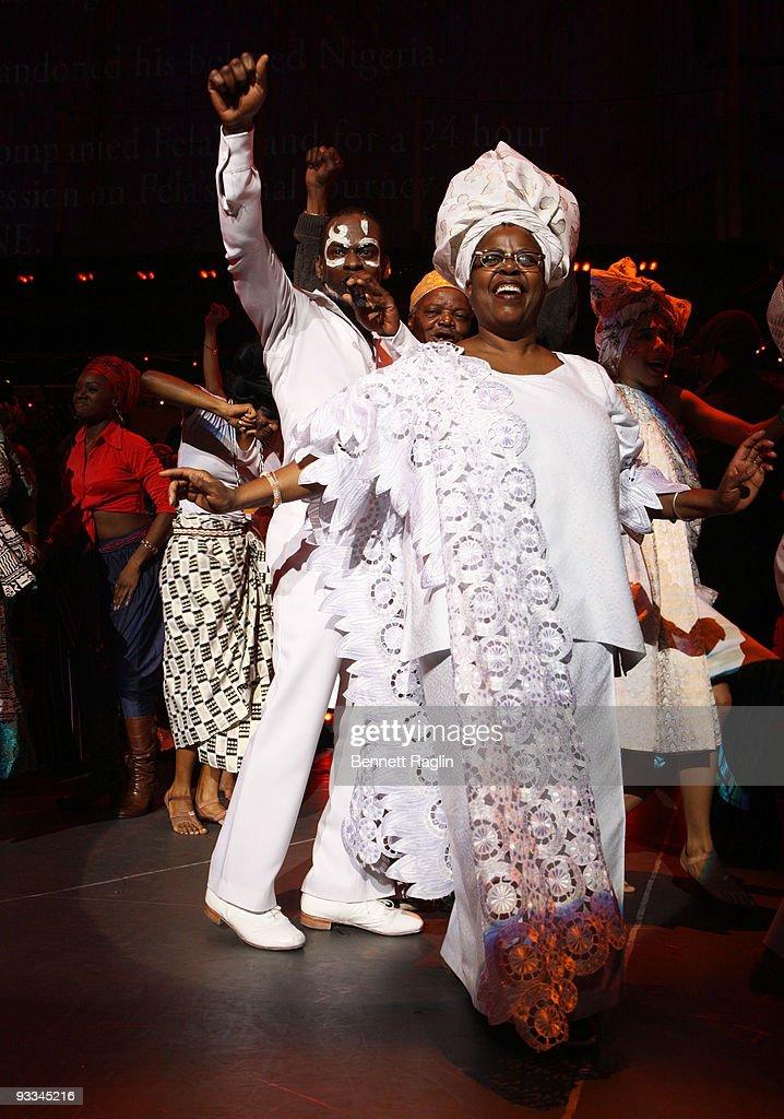 """Fela!"" Broadway Opening Night - Arrivals & Curtain Call"