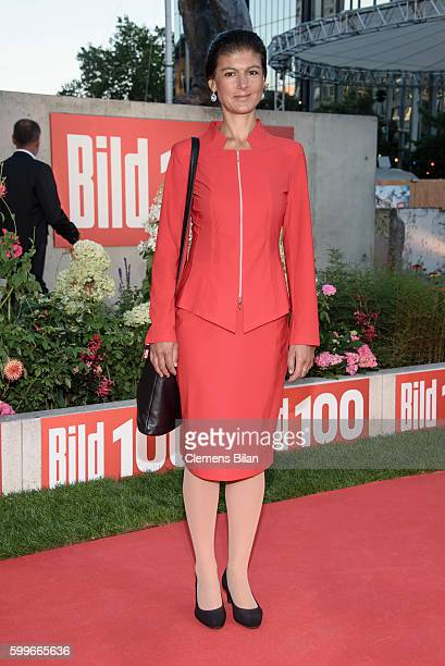 Sahra Wagenknecht attends the BILD100 event on September 6 2016 in Berlin Germany