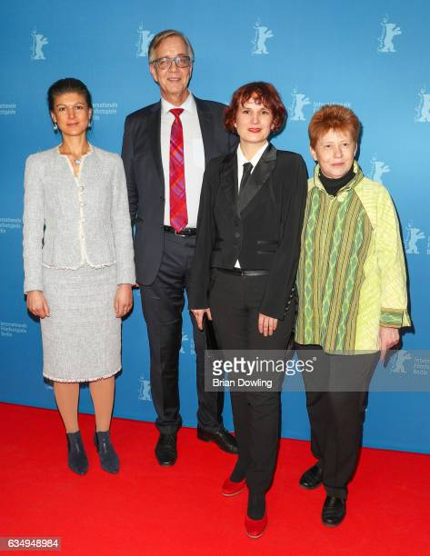 Sahra Wagenknecht Dietmar Bartsch Katja Kipping and guest attend the 'The Young Karl Marx' premiere during the 67th Berlinale International Film...