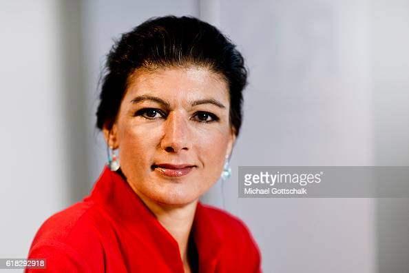 Sahra Wagenknecht head of Die Linke party fraction in german ...