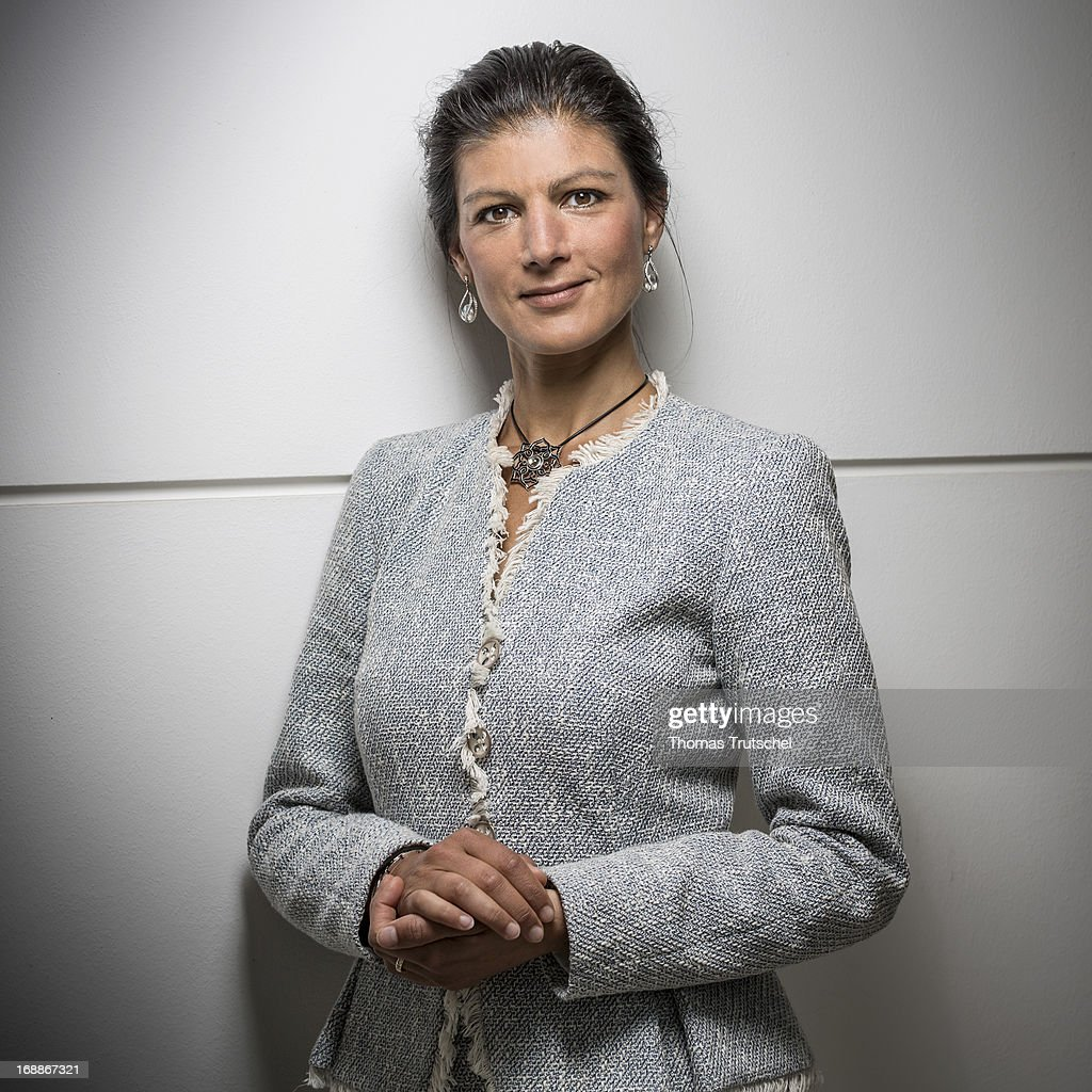 Sahra Wagenknecht , Member of the parliamentary group of the German ...