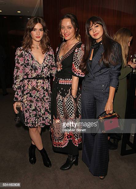 Sai Bennett Alice Temperley and Zara Martin attend a private screening with Alice Temperley of Disney's Alice Through The Looking Glass at the...