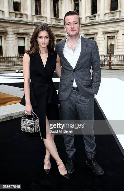 Sai Bennett and Sam Doyle attend a VIP preview of the Royal Academy of Arts Summer Exhibition 2016 on June 7 2016 in London England