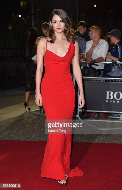 Sai Bennett arrives for the GQ Men Of The Year Awards 2016 at Tate Modern on September 6 2016 in London England