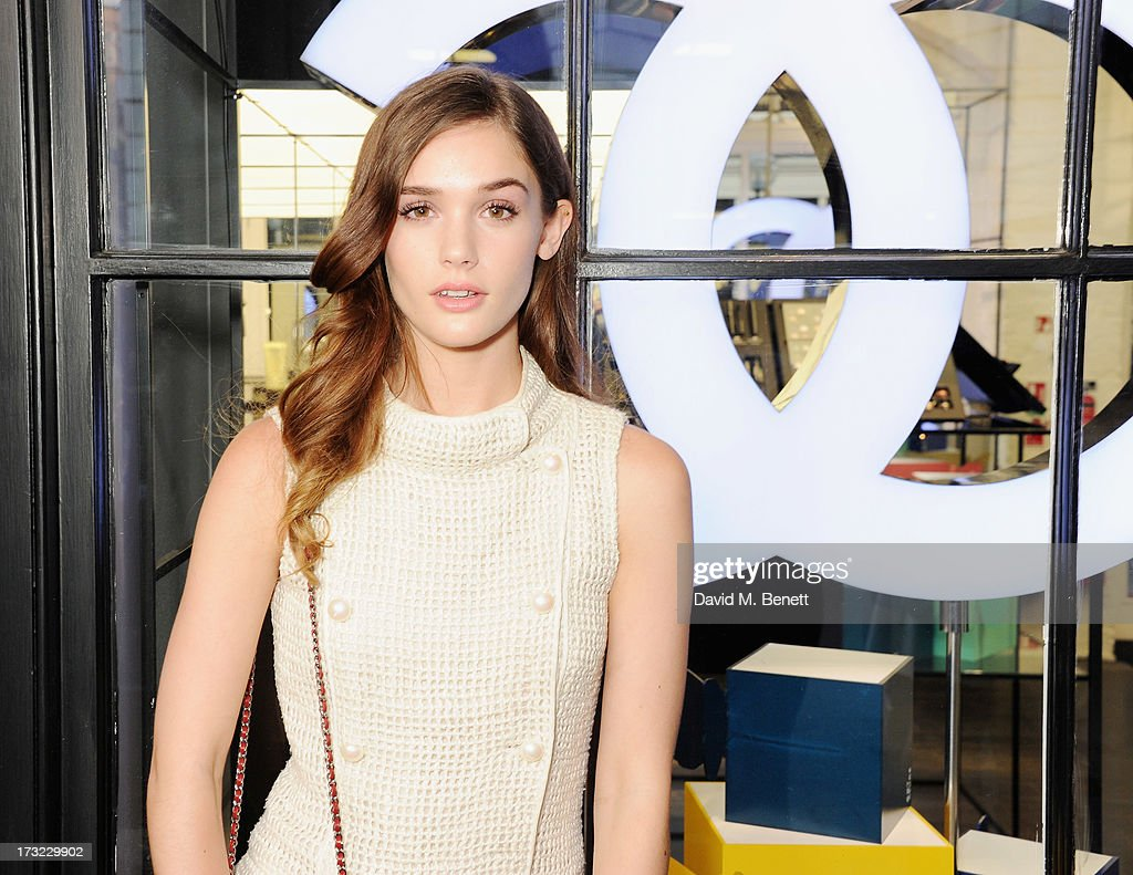 Sai Bennett attends a party for www.getthegloss.com hosted by Chanel at Chanel Covent Garden store on July 10, 2013 in London, England.