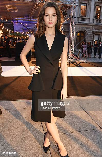 Sai Bennett attends a VIP preview of the Royal Academy of Arts Summer Exhibition 2016 on June 7 2016 in London England