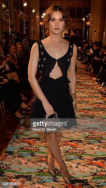 Sai Bennett attends as Christian Dior showcases its spring summer 2017 cruise collection at Blenheim Palace on May 31 2016 in Woodstock England