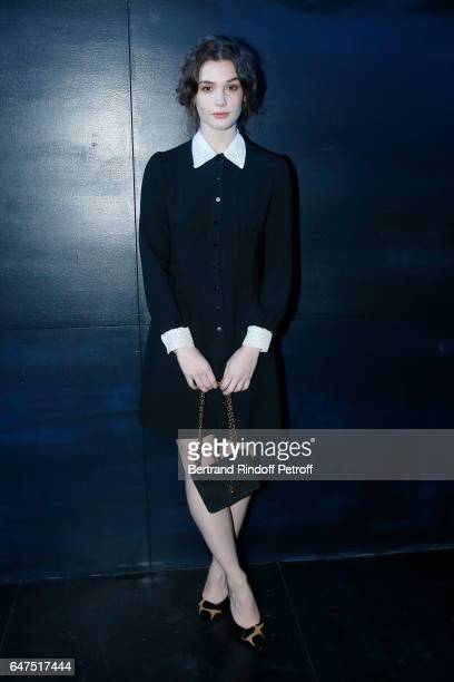 Sai Bennett attends the Christian Dior show as part of the Paris Fashion Week Womenswear Fall/Winter 2017/2018 on March 3 2017 in Paris France