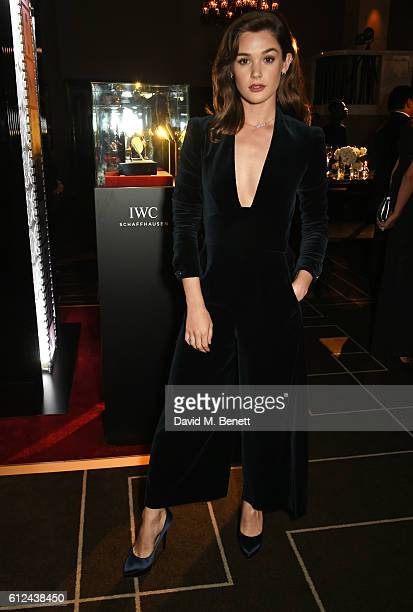 Sai Bennett attends the IWC Schaffhausen Dinner in Honour of the BFI at Rosewood London on October 4 2016 in London England