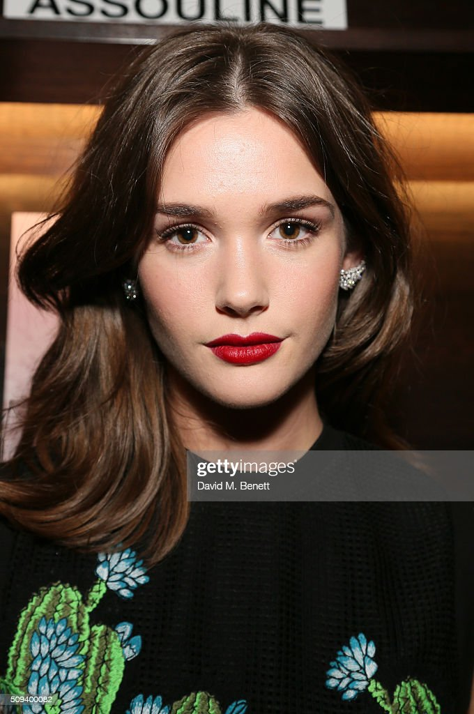 Sai Bennett attends the launch of 'Messika Joaillerie' by Vivienne Becker at Maison Assouline on February 10, 2016 in London, England.
