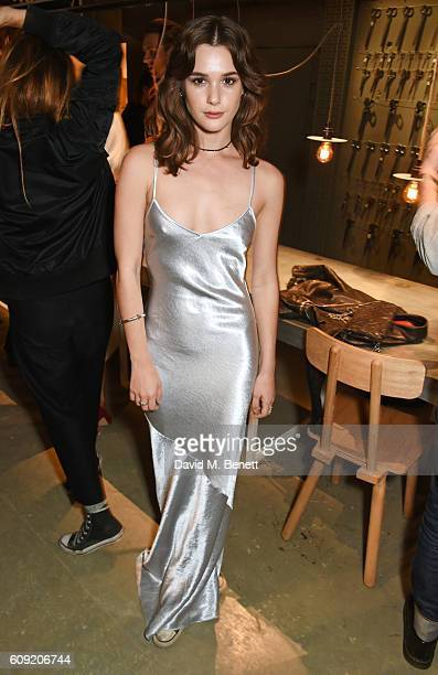 Sai Bennett attends the launch party hosted by Christopher Bailey and Jefferson Hack to celebrate the Burberry and Dazed cover featuring Jean...