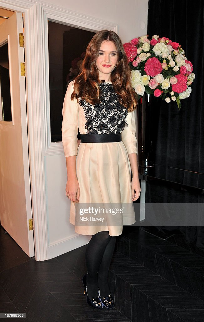 Sai Bennett attends the opening of Dior Beauty Boutique on November 14, 2013 in Covent Garden, London, England.