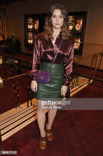 Sai Bennett attends the PORTER Lionsgate UK screening of 'Film Stars Don't Die In Liverpool' at Cineworld Leicester Square on October 12 2017 in...