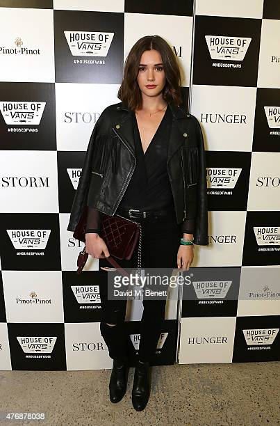 Sai Bennett attends the Storm LCM SS16 Party at House of Vans on June 12 2015 in London England