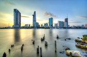 Sai Gon River - Thu Thiem view