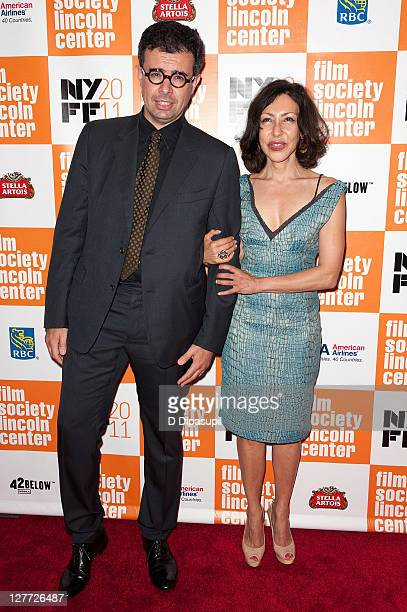 Said Ben Said and Yasmina Reza attend the 2011 New York Film Festival opening night screening of 'Carnage' at Alice Tully Hall Lincoln Center on...