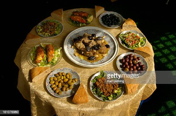 DENVER CO Said Benjelloun created a lamb tagine with prunes Benjelloun is the executive chef and owner of Casablanca Moroccan Restaurant 2488 S...