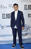 Said Chatiby attends the premiere of 'El Nino' at Kinepolis Cinema on August 28 2014 in Madrid Spain