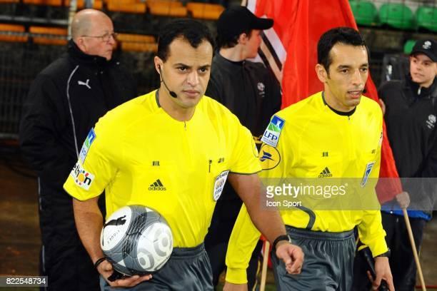 Said ENNJIMI Valenciennes / Monaco 16 eme journee de Ligue 1 Stade Nungesser Valenciennes