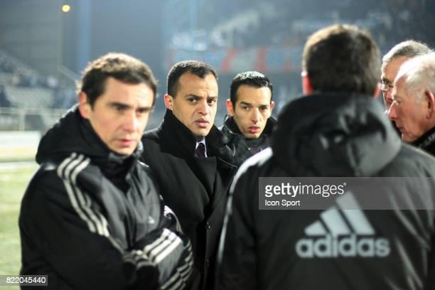 Said ENNJIMI Auxerre / Marseille 20 eme journee de Ligue 1