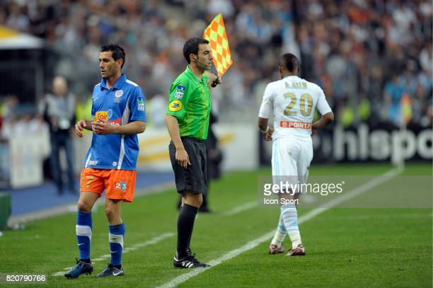 Said ENNJIMI Marseille / Montpellier Finale de la Coupe de la Ligue 2011 Stade de France