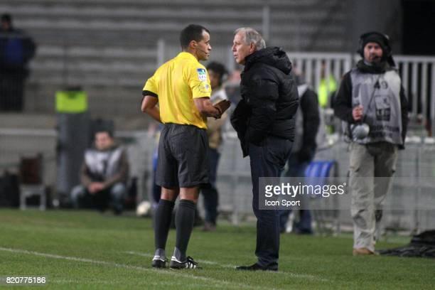 Said ENNJIMI / Rene GIRARD Montpellier / PSG 1/2 Finale de la Coupe de la Ligue Montpellier