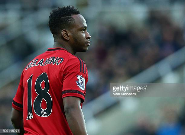 Saido Berahino of West Bromwich Albion in action during the Barclays Premier League match between Newcastle United FC and West Bromwich Albion FC at...