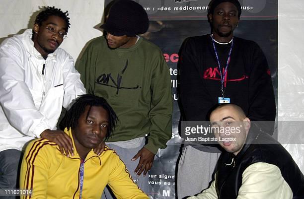 SaIen Supa Crew during Paris 2002 Solidays Festival SaIen Supa Crew Concert at Hippodrome de Longchamp in Paris France