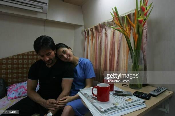 Saif Ali Khan and Kareena Kapoor Photo shoot for Power Couple