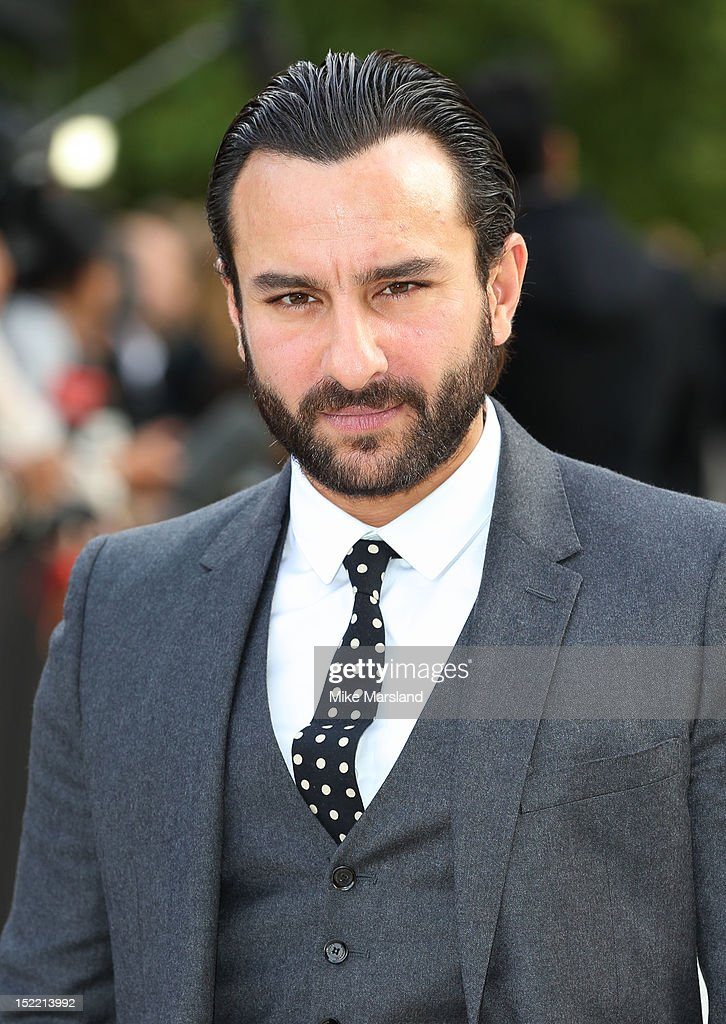<a gi-track='captionPersonalityLinkClicked' href=/galleries/search?phrase=Saif+Ali+Khan&family=editorial&specificpeople=3117032 ng-click='$event.stopPropagation()'>Saif Ali Khan</a> attends the front row for the Burberry Prorsum show on day 4 of London Fashion Week Spring/Summer 2013 on September 17, 2012 in London, England.