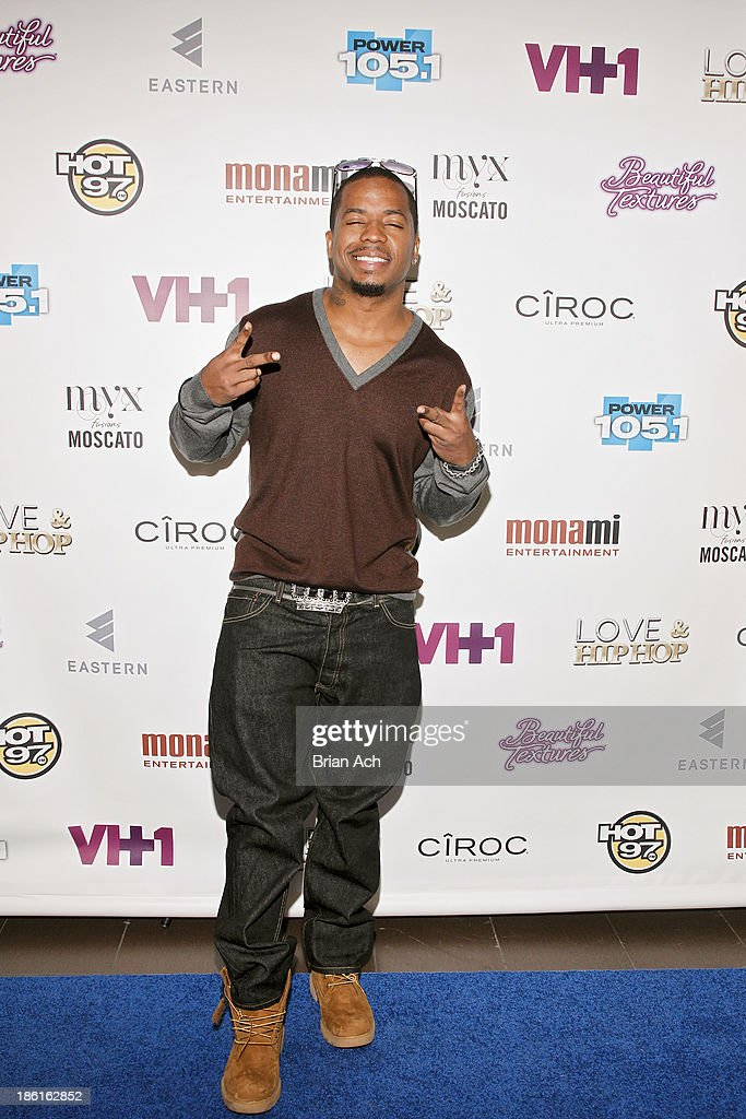 Saigon appears at the VH1 'Love & Hip Hop' Season 4 Premiere at Stage 48 on October 28, 2013 in New York City.